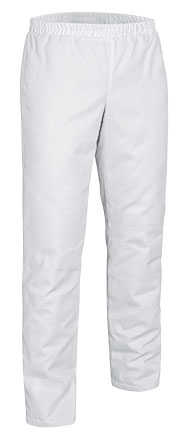 pantalon mixto LOBSTER, blanco